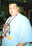 Brandon before gastric bypass surgery.